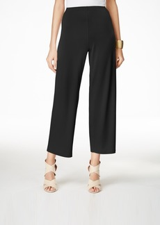 Alfani Petite Soft-Knit Dressing Culottes, Created for Macy's