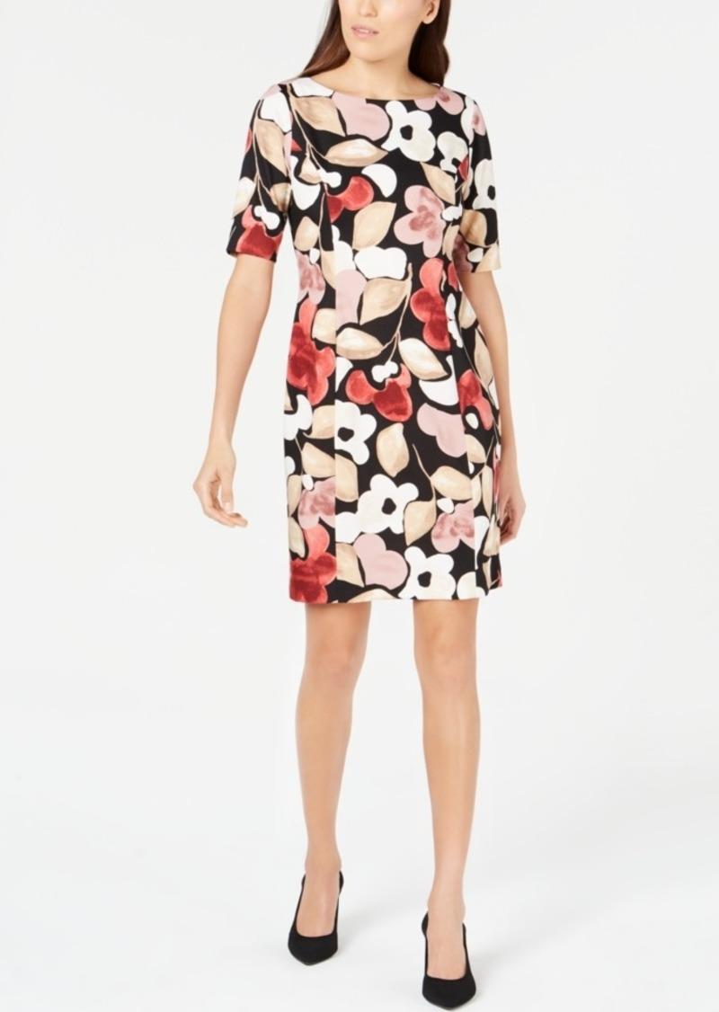 3dc520863ae SALE! Alfani Alfani Printed Sheath Dress