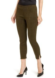 Alfani Fringe-Hem Ankle Pants, Created For Macy's