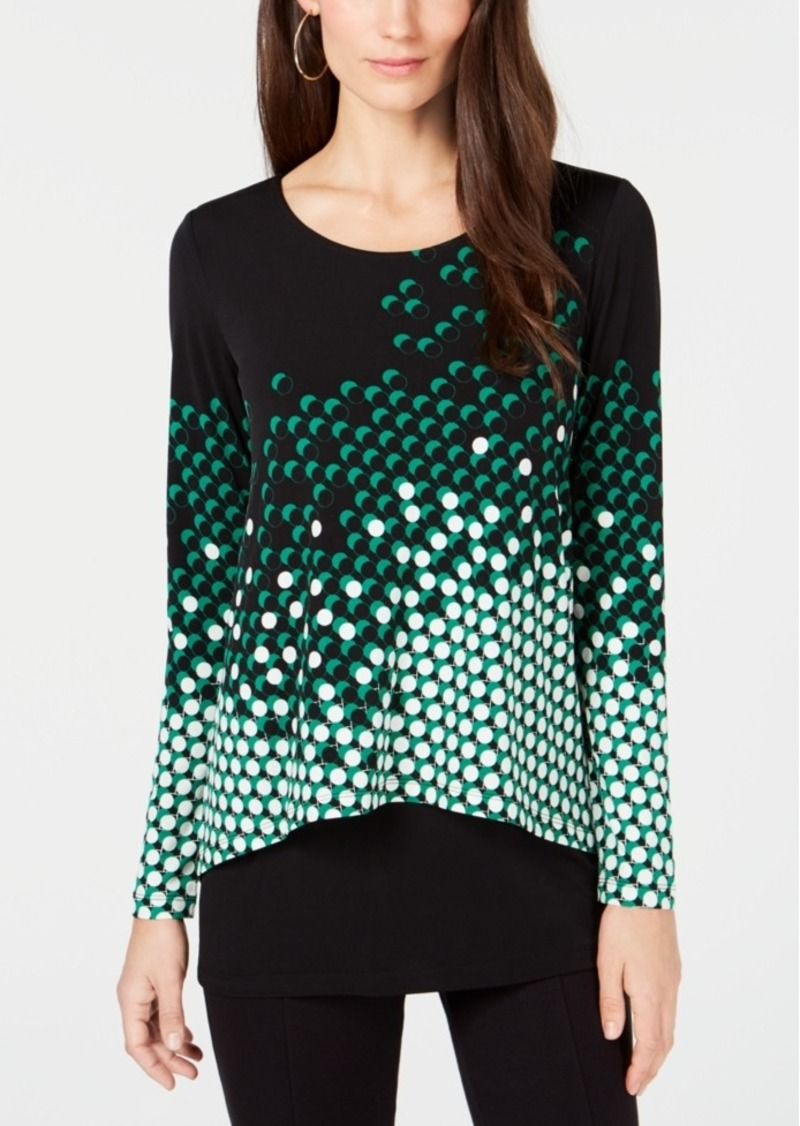 Alfani Layered-Look Top, Created for Macy's