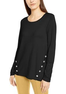 Alfani Hardware Seamed Sweater, Created For Macy's