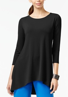 Alfani Petite High-Low Jersey Tunic Top, Only at Macy's