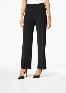 Alfani Petite Knit Wide-Leg Pant, Created for Macy's