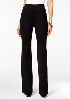 Alfani Mariner Knit Straight-Leg Trousers, Only at Macy's