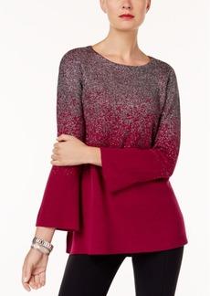 Alfani Petite Metallic Ombre Sweater, Created for Macy's
