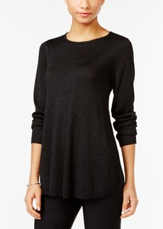 Alfani Petite Metallic Sweater, Only at Macy's