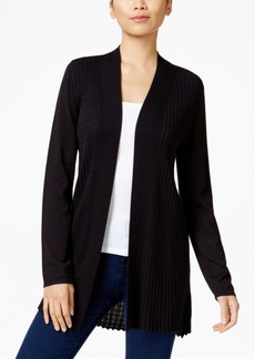 Alfani Petite Open-Front Cardigan, Only at Macy's