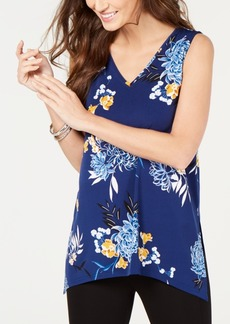 Alfani Petite Printed Blouse, Created for Macy's