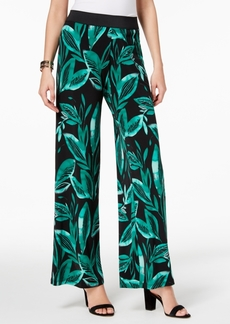 Alfani Petite Printed Palazzo Pants, Created for Macy's