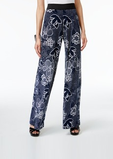 Alfani Petite Printed Palazzo Pants, Only at Macy's