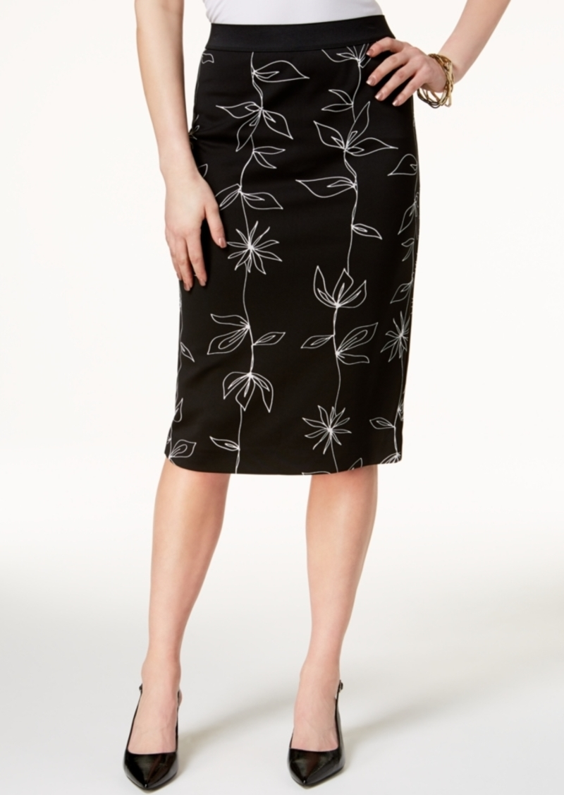 4a56b1fa88 Alfani Alfani Petite Printed Pencil Skirt, Created for Macy's | Skirts