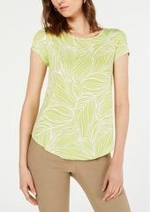 Alfani Plus Size Printed T-Shirt, Created for Macy's