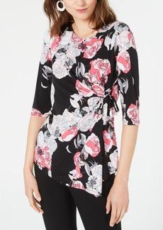 Alfani Side-Tie Top, Created for Macy's