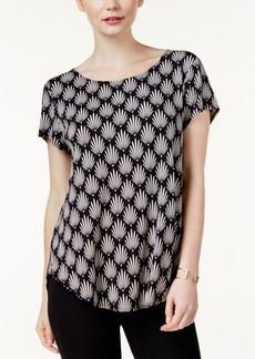 Alfani Petite Printed Top, Created for Macy's