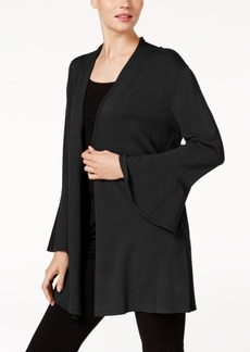 Alfani Petite Ruffled-Sleeve Cardigan, Created for Macy's