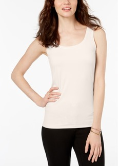 Alfani Petite Scoop-Neck Basic Tank, Created for Macy's