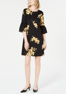 Alfani Scuba Bell-Sleeve Dress, Created for Macy's