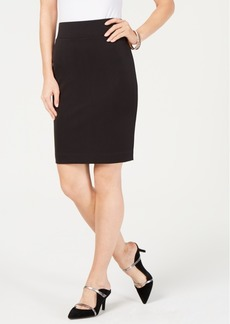 Alfani Petite Scuba Midi Skirt, Created for Macy's