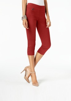 Alfani Petite Tummy-Control Pull-On Capri Pants, Created for Macy's