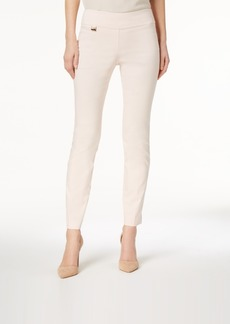 Alfani Petite Tummy-Control Pull-On Skinny Pants, Created for Macy's