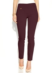Alfani Tummy-Control Pull-On Skinny Pants, Created for Macy's