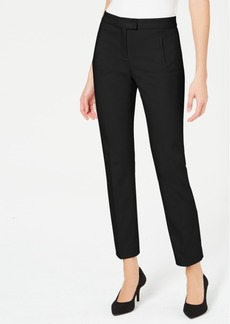 Alfani Petite Tummy-Control Slim-Leg Pants, Created For Macy's