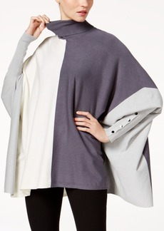 Alfani Petite Turtleneck Poncho, Created for Macy's