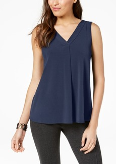 Alfani Petite V-Neck Top, Created for Macy's
