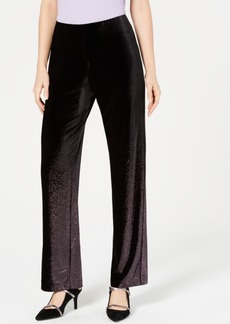 Alfani Petite Velvet Pull-On Pants, Created for Macy's