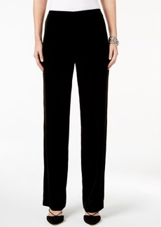 Alfani Petite Velvet Pull-On Pants, Only at Macy's
