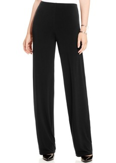 Alfani Petite Wide-Leg Knit Pants, Only at Macy's