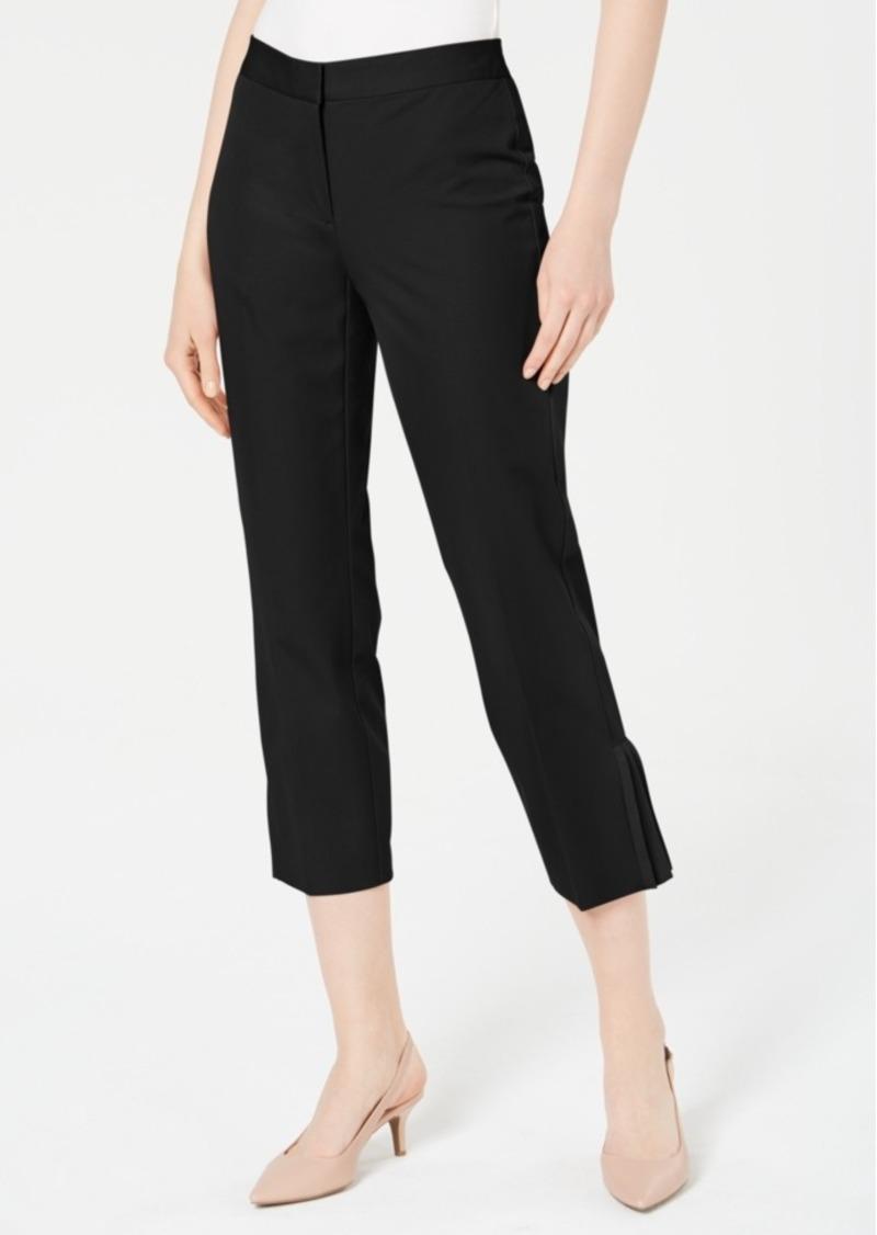 Alfani Pleat-Hem Ankle Pants, Created for Macy's