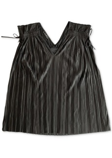 Alfani Pleated Ruched Top, Created for Macy's