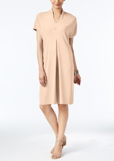 Alfani Pleated Shift Dress, Only at Macy's
