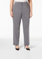 Alfani Plus & Petite Plus Size Modern Straight-Leg Pants, Created for Macy's