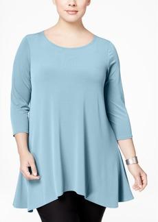 Alfani Plus High-Low Tunic, Created for Macy's