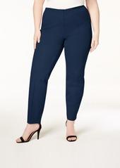 Alfani Plus Size Bi-Stretch Hollywood Skinny Pants, Created for Macy's