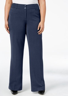 Alfani Plus Size Curvy-Fit Bootcut Pants, Created for Macy's
