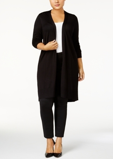 Alfani Plus Size Duster Cardigan, Created for Macy's