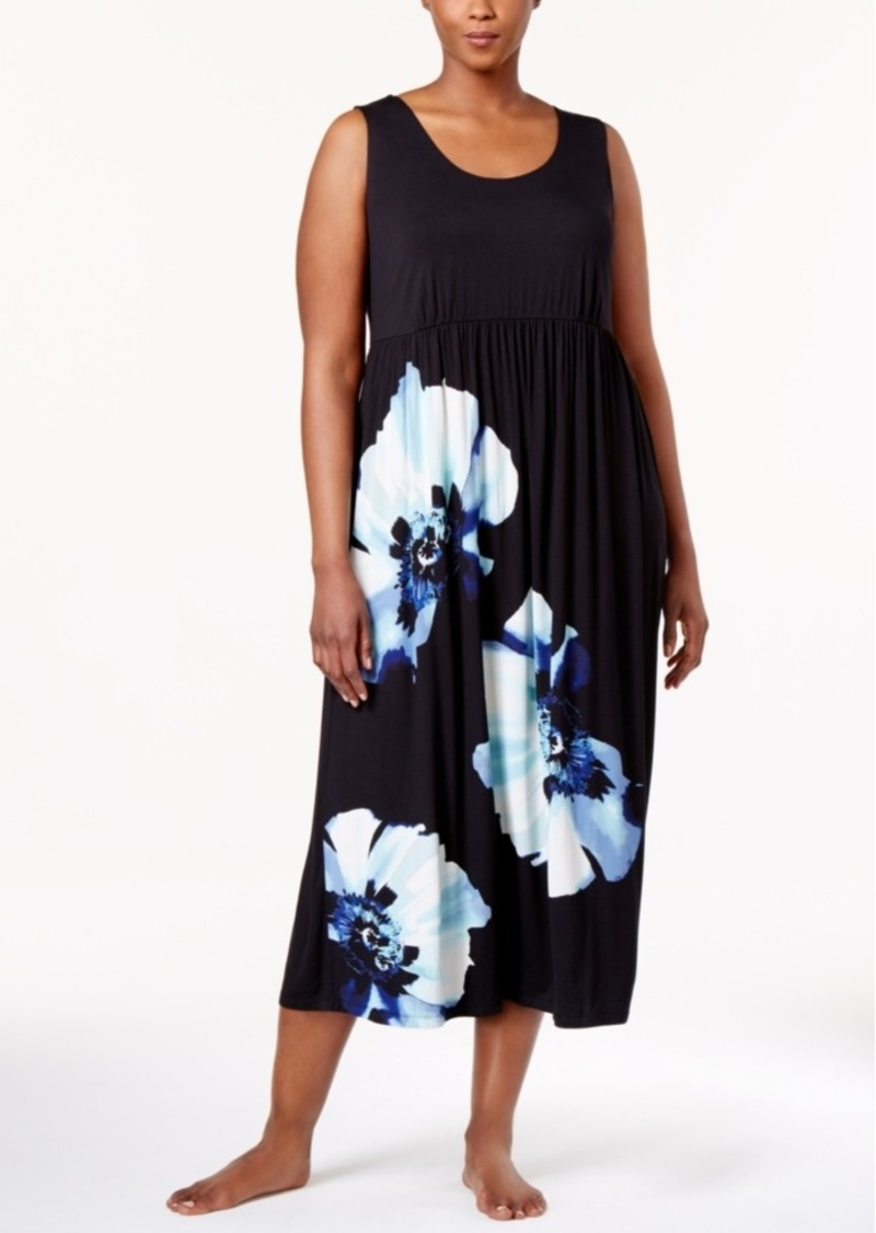 1657507d41 On Sale today! Alfani Alfani Plus Size Floral-Print Knit Nightgown ...