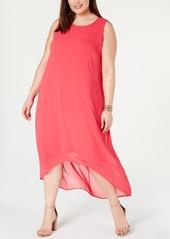 Alfani Plus Size High-Low Maxi Dress, Created for Macy's