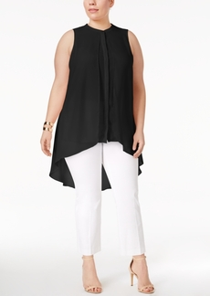 Alfani Plus Size High-Low Tunic, Only at Macy's