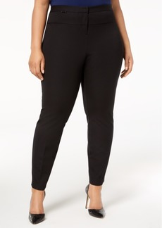 Alfani Plus Size High-Rise Skinny Pants, Created for Macy's