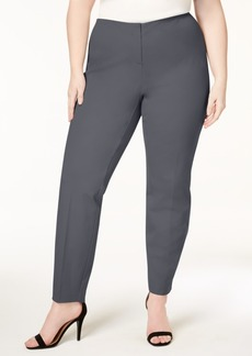 Alfani Plus Size Hollywood Skinny Bi-Stretch Pants, Created for Macy's