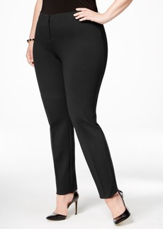Alfani Plus Size Hollywood Skinny Pants, Only at Macy's