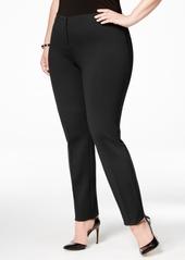 Alfani Plus Size Hollywood Skinny Ponte Pants, Created for Macy's