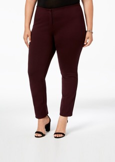 Alfani Plus Size Hollywood Skinny Ponte Pants, Created for Macy's