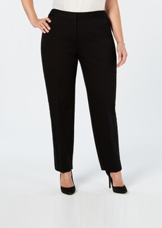 Alfani Plus Size Lace-Trim Hollywood Skinny Pants, Created for Macy's