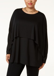 Alfani Plus Size Layered Top, Only at Macy's