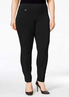 Alfani Plus Size Modern Skinny Pull-On Pants